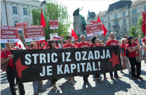 Manifestazione Slovenia