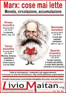 Locandina - Marx - cose mai lette