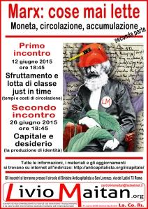 Locandina - Marx - cose mai lette seconda parte - per web