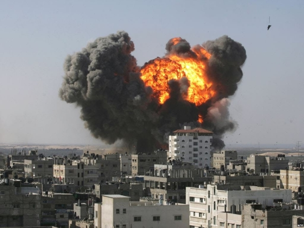 Bombardamento Syria