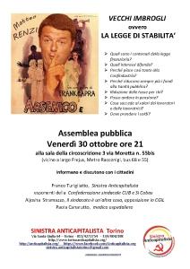 Locandina Assemblea 30-01