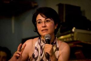 Haneen Zoabi, deputata palestinese, del partito Balad