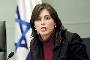 Tzipi Hotovely, vice ministro degli Esteri, del Likud