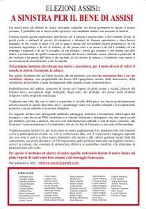 Microsoft Word - Appello ASSISI 3.doc