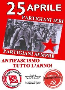 Manifesto 25 aprile unitario - per web
