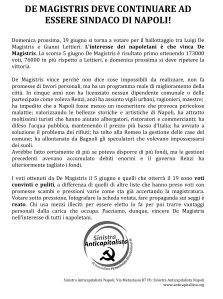 Microsoft Word - DE MAGISTRIS ballottaggio.docx