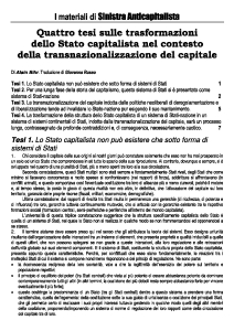 Copertina Materiali di Sinistra Anticapitalista - 5-01