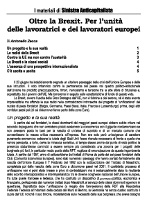 Copertina Materiali di Sinistra Anticapitalista - 6-01
